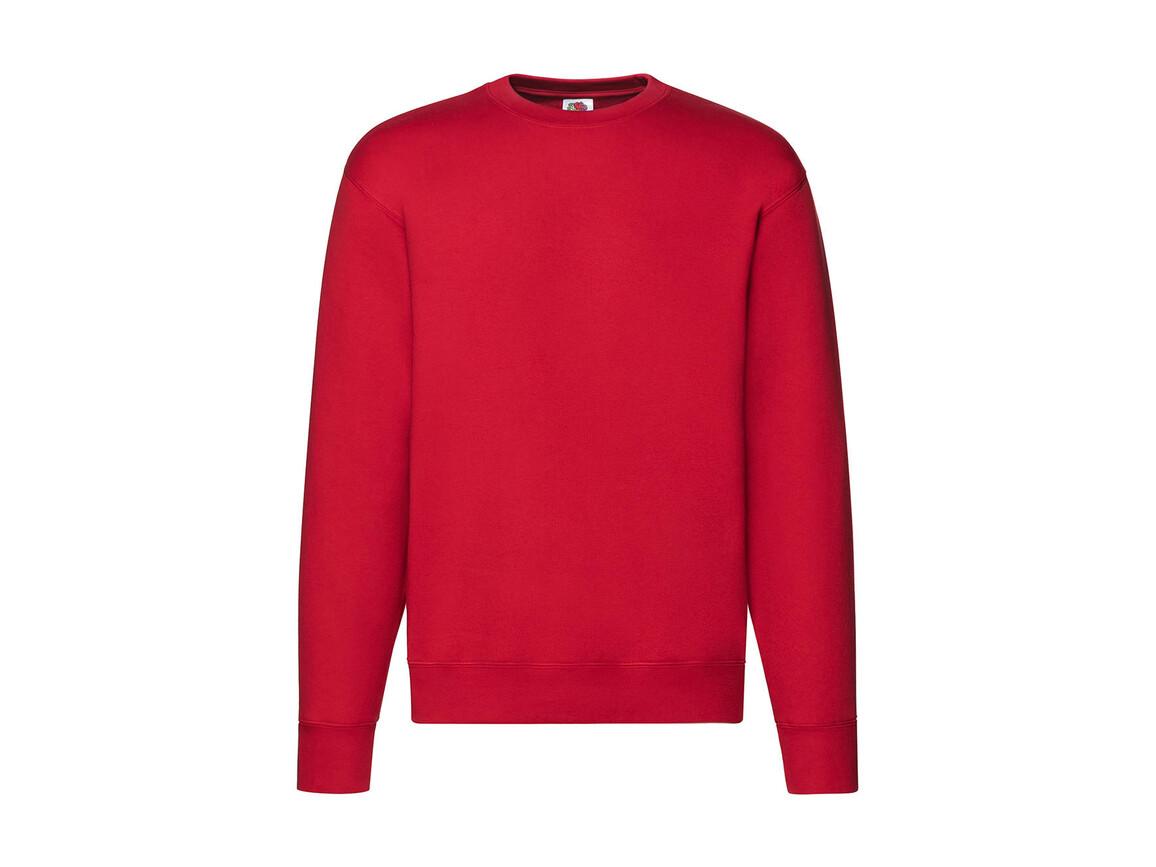 Fruit of the Loom Premium Set In Sweat, Red, L bedrucken, Art.-Nr. 215014005