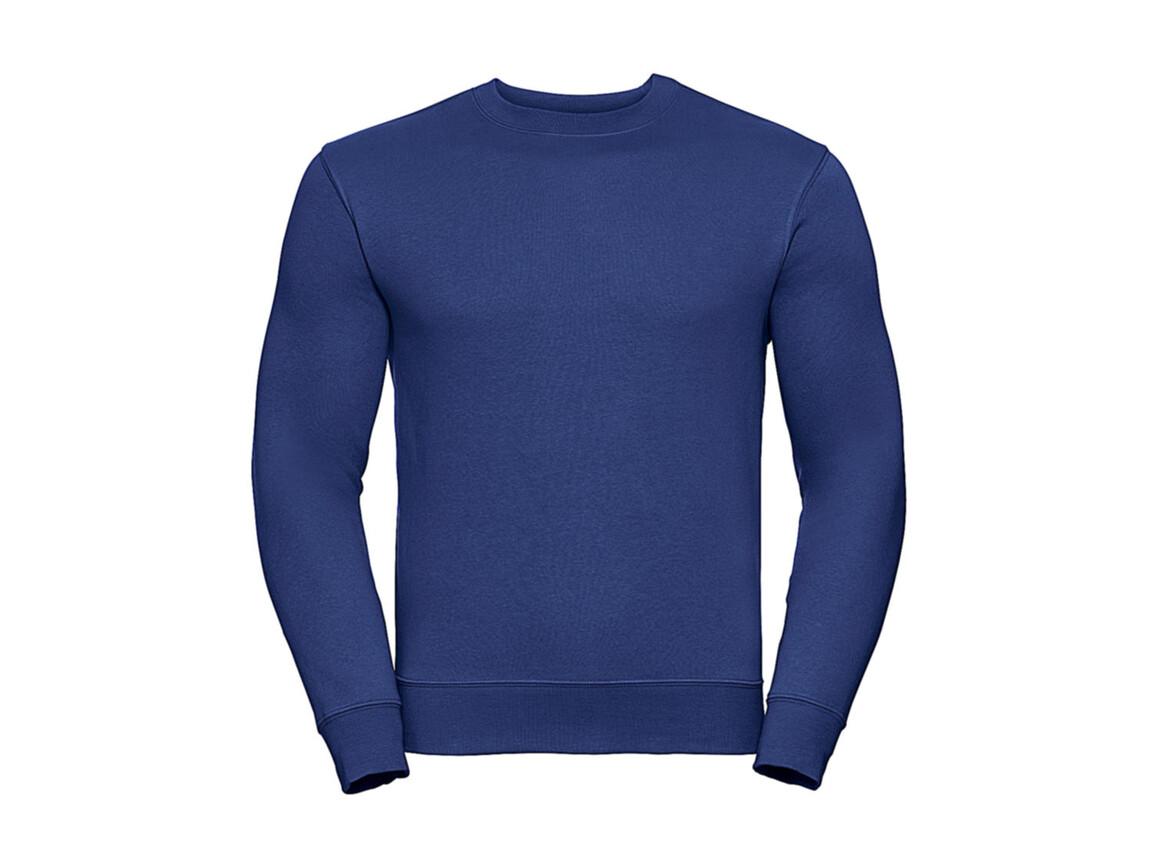 Russell Europe Authentic Set-In Sweatshirt, Bright Royal, XS bedrucken, Art.-Nr. 216003062