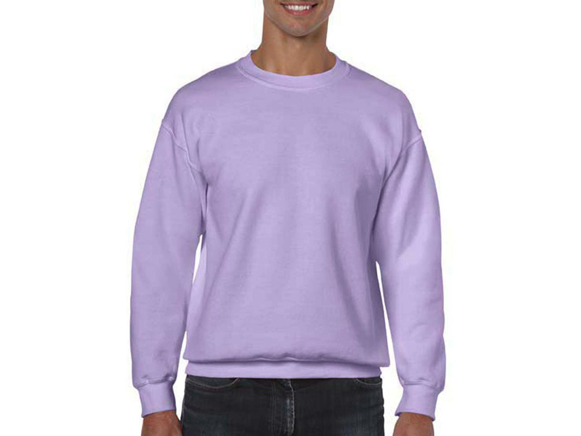Gildan Heavy Blend Adult Crewneck Sweat, Orchid, XL bedrucken, Art.-Nr. 238093456
