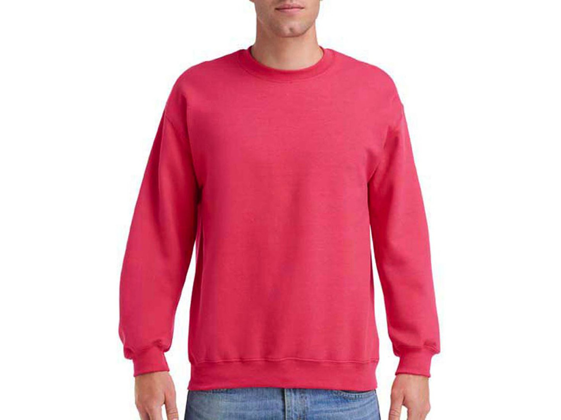 Gildan Heavy Blend Adult Crewneck Sweat, Paprika, S bedrucken, Art.-Nr. 238094243