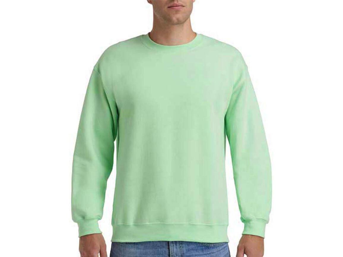 Gildan Heavy Blend Adult Crewneck Sweat, Mint Green, L bedrucken, Art.-Nr. 238095145