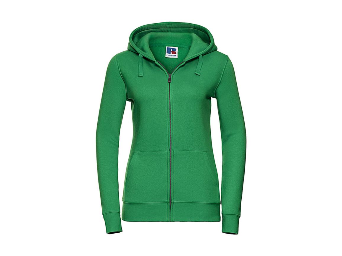 Russell Europe Ladies` Authentic Zipped Hood, Apple, S bedrucken, Art.-Nr. 283005223
