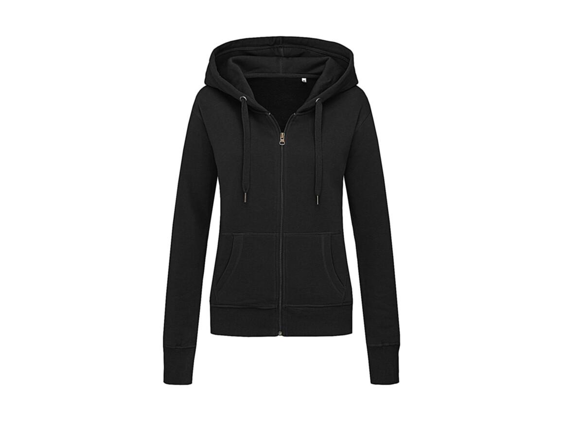 Stedman Active Sweatjacket Women, Black Opal, XL bedrucken, Art.-Nr. 283051026