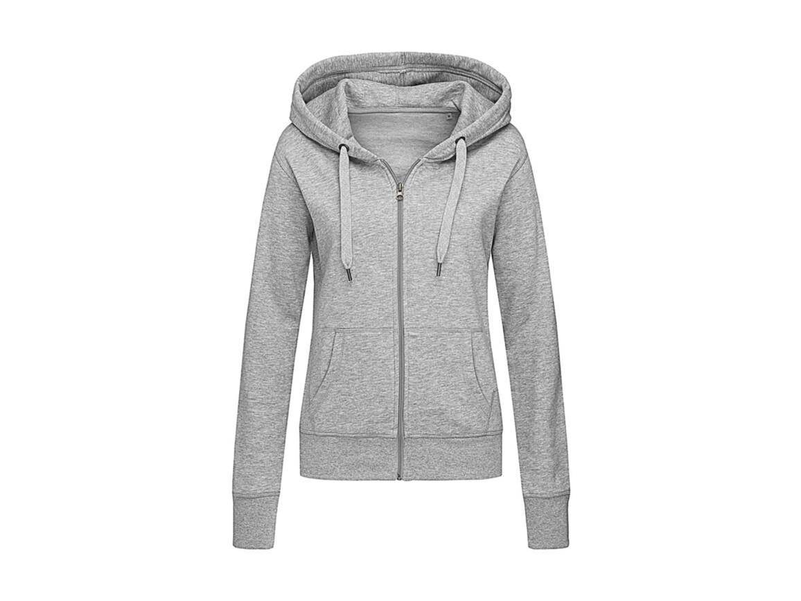 Stedman Active Sweatjacket Women, Grey Heather, XL bedrucken, Art.-Nr. 283051236