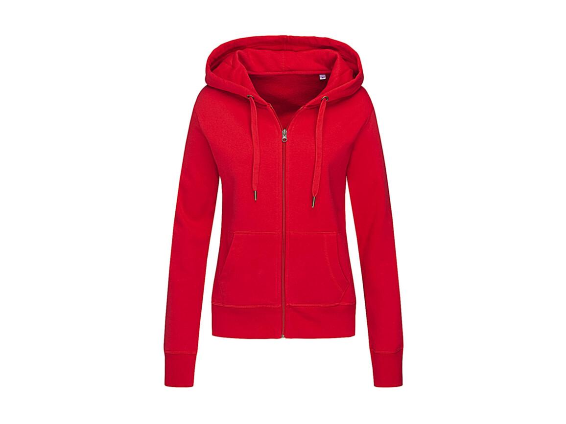 Stedman Active Sweatjacket Women, Crimson Red, S bedrucken, Art.-Nr. 283054413