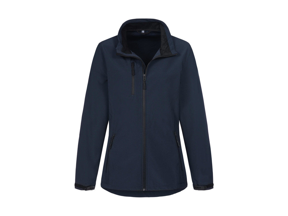 Stedman Active Softshell Jacket Women, Marina Blue, S bedrucken, Art.-Nr. 403052073