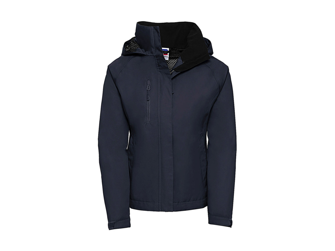 Russell Europe Ladies` HydraPlus 2000 Jacket, French Navy, S (36) bedrucken, Art.-Nr. 415002013
