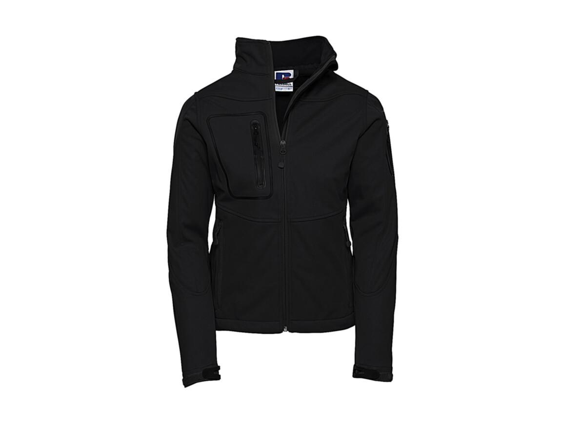 Russell Europe Ladies` Sports Shell 5000 Jacket, Black, XS (34) bedrucken, Art.-Nr. 420001012