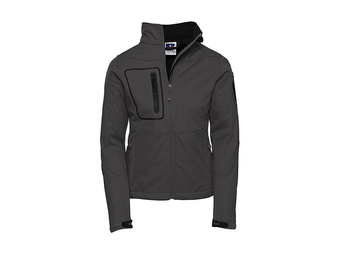 Russell Europe Ladies` Sports Shell 5000 Jacket, Titanium, 2XL (44) bedrucken, Art.-Nr. 420001397