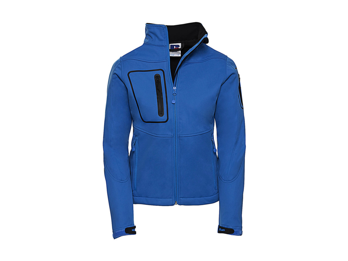 Russell Europe Ladies` Sports Shell 5000 Jacket, Azure, M (38) bedrucken, Art.-Nr. 420003164