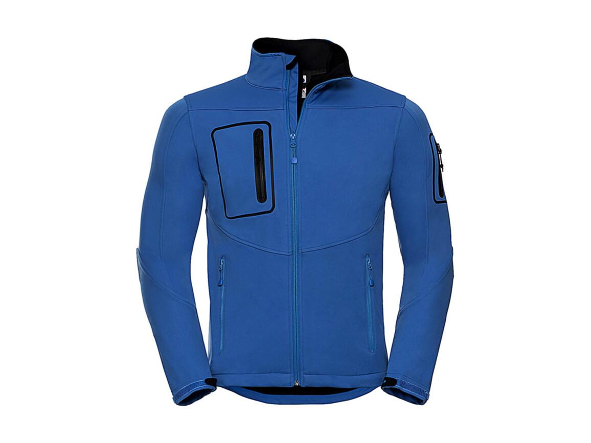 Russell Europe Men`s Sports Shell 5000 Jacket, Azure, M bedrucken, Art.-Nr. 421003164