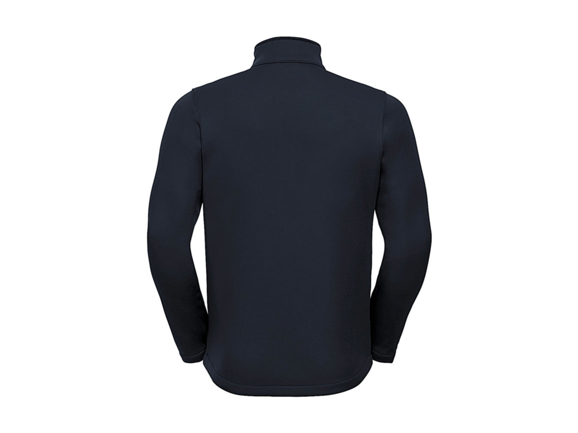 Russell Europe Men`s SmartSoftshell Jacket, French Navy, 3XL bedrucken, Art.-Nr. 429002018