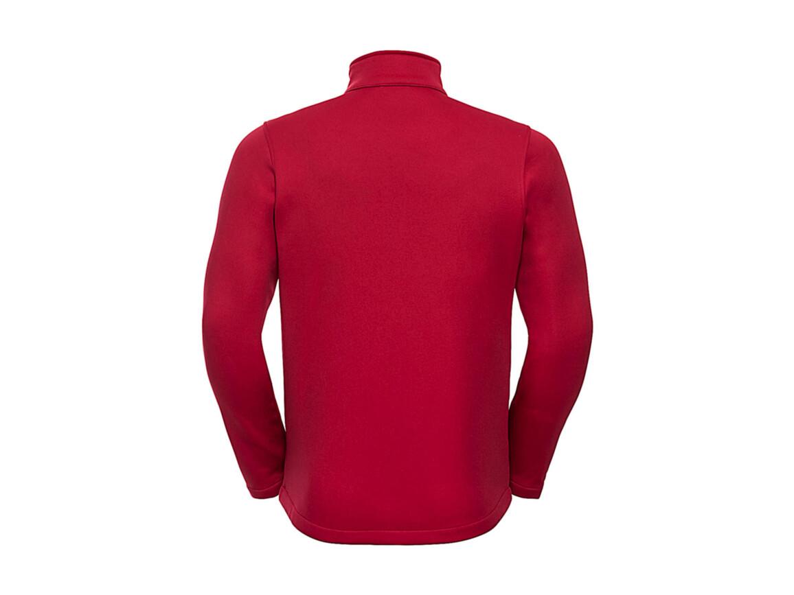 Russell Europe Men`s SmartSoftshell Jacket, Classic Red, M bedrucken, Art.-Nr. 429004014