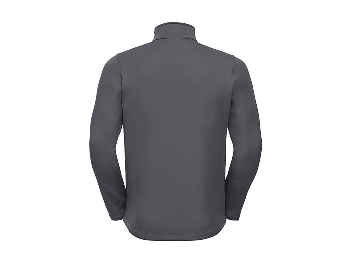 Russell Europe Men`s SmartSoftshell Jacket, Convoy Grey, XL bedrucken, Art.-Nr. 429001276