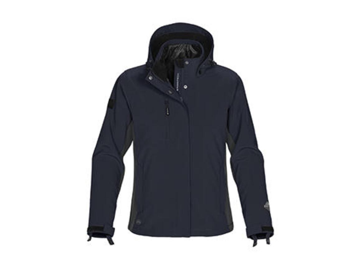 StormTech Ladies` Atmosphere 3-in-1 Jacket, Navy/Granite, S bedrucken, Art.-Nr. 430182513