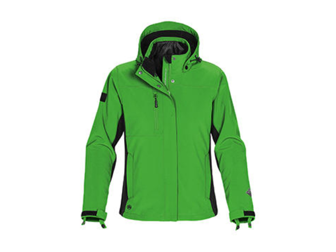 StormTech Ladies` Atmosphere 3-in-1 Jacket, Treetop Green/Black, XS bedrucken, Art.-Nr. 430185532