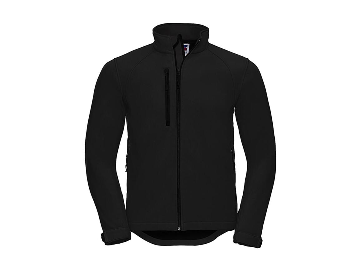 Russell Europe Softshell Jacket, Black, XL bedrucken, Art.-Nr. 438001016