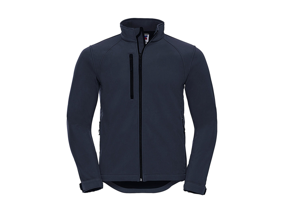 Russell Europe Softshell Jacket, French Navy, XL bedrucken, Art.-Nr. 438002016