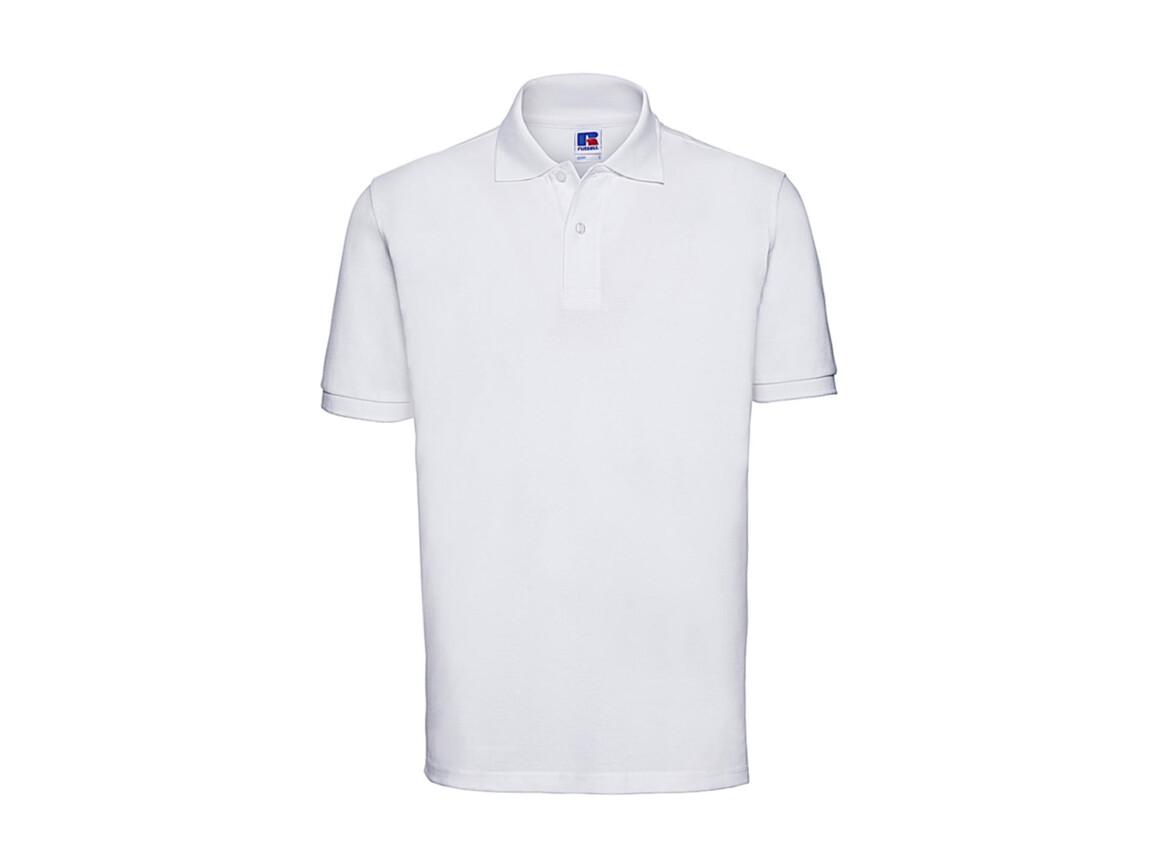 Russell Europe Men`s Classic Cotton Polo, White, 3XL bedrucken, Art.-Nr. 549000008