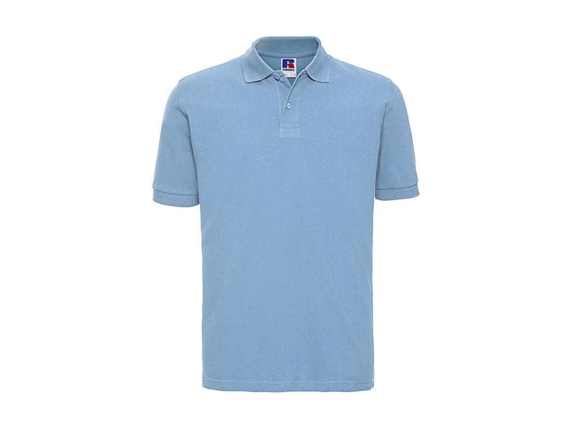 Russell Europe Men`s Classic Cotton Polo, Sky, M bedrucken, Art.-Nr. 549003204