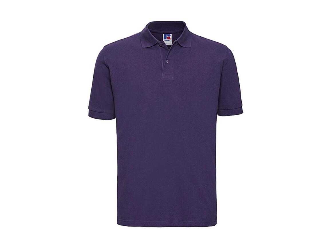Russell Europe Men`s Classic Cotton Polo, Purple, 2XL bedrucken, Art.-Nr. 549003497