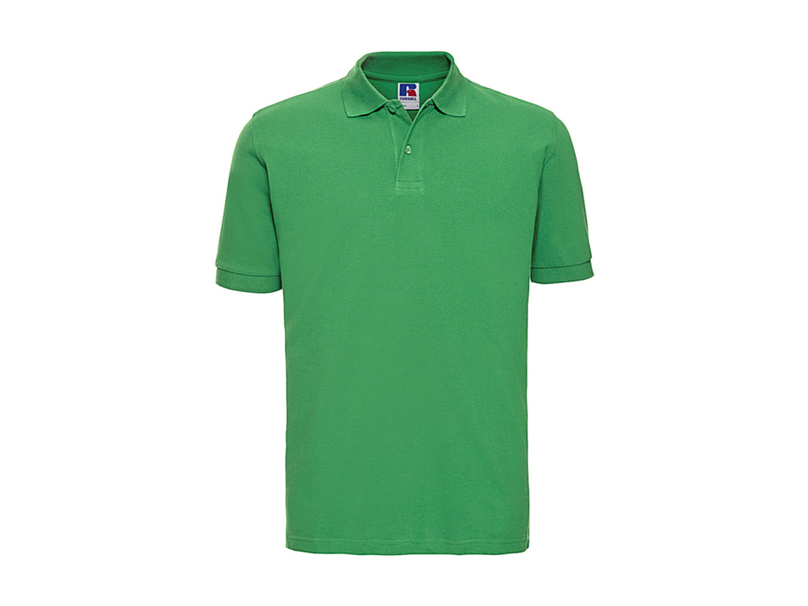 Russell Europe Men`s Classic Cotton Polo, Apple, XL bedrucken, Art.-Nr. 549005226