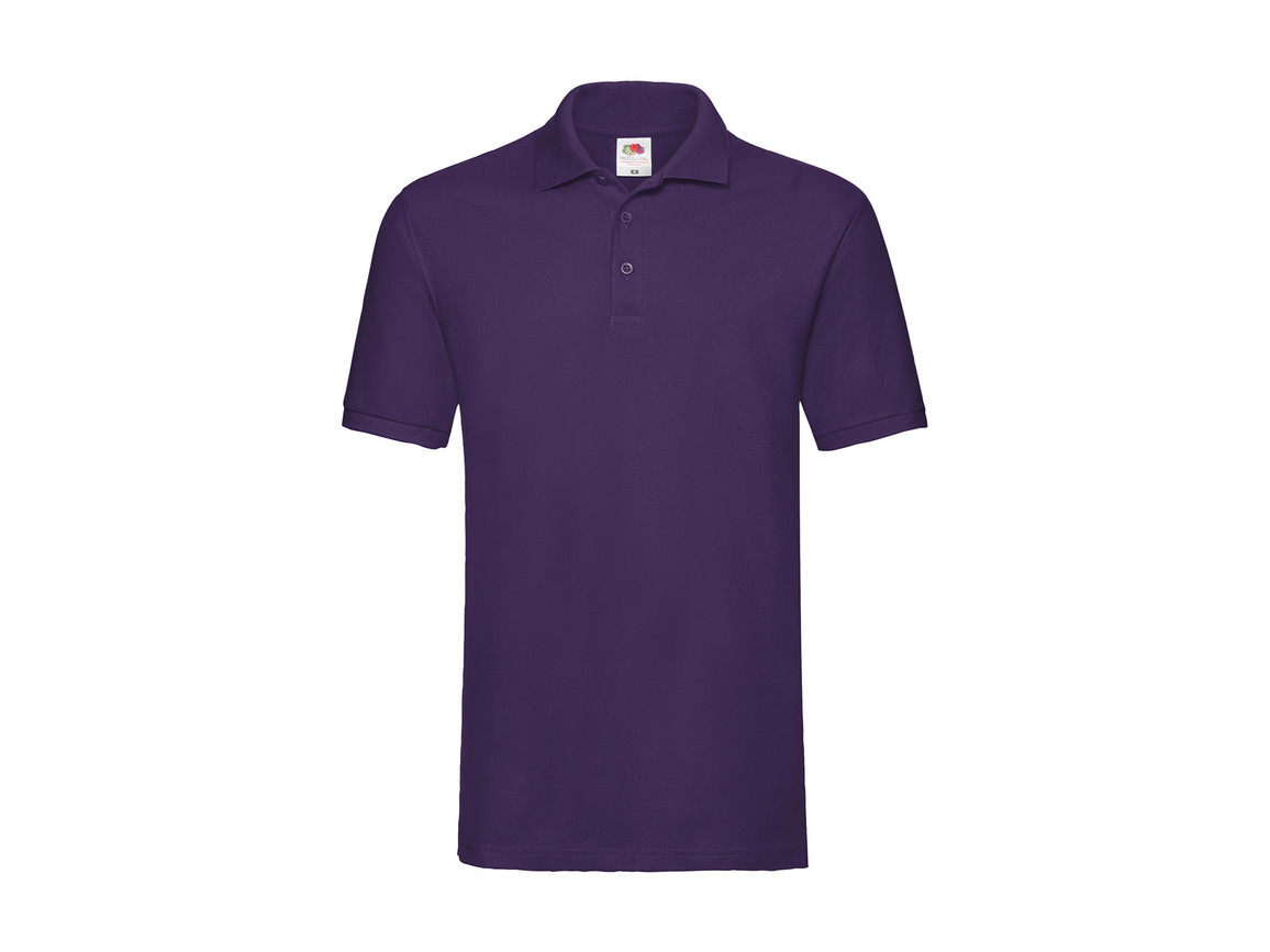 Fruit of the Loom Premium Polo, Purple, M bedrucken, Art.-Nr. 551013494