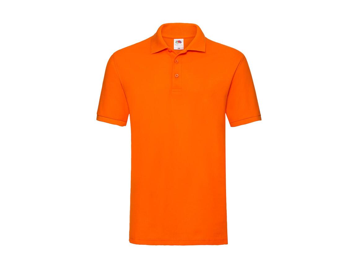 Fruit of the Loom Premium Polo, Orange, XL bedrucken, Art.-Nr. 551014106