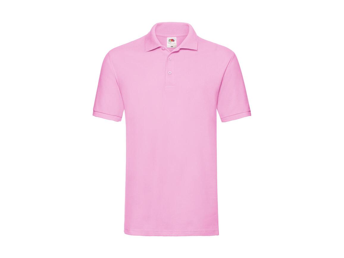 Fruit of the Loom Premium Polo, Light Pink, 3XL bedrucken, Art.-Nr. 551014208