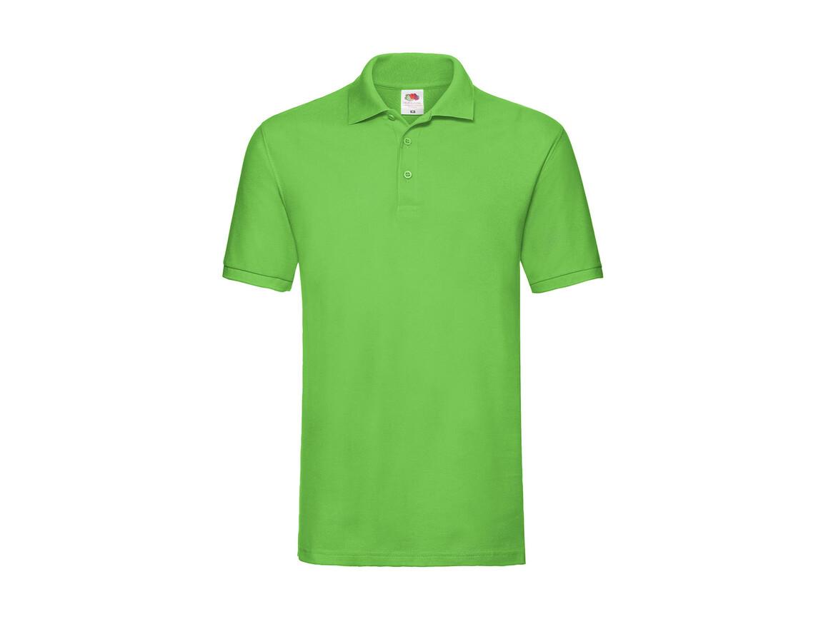 Fruit of the Loom Premium Polo, Lime Green, L bedrucken, Art.-Nr. 551015215