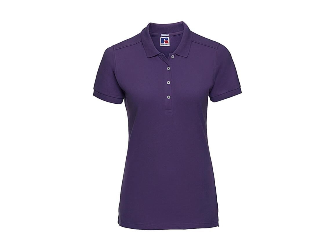 Russell Europe Ladies` Fitted Stretch Polo, Ultra Purple, XL bedrucken, Art.-Nr. 566003476