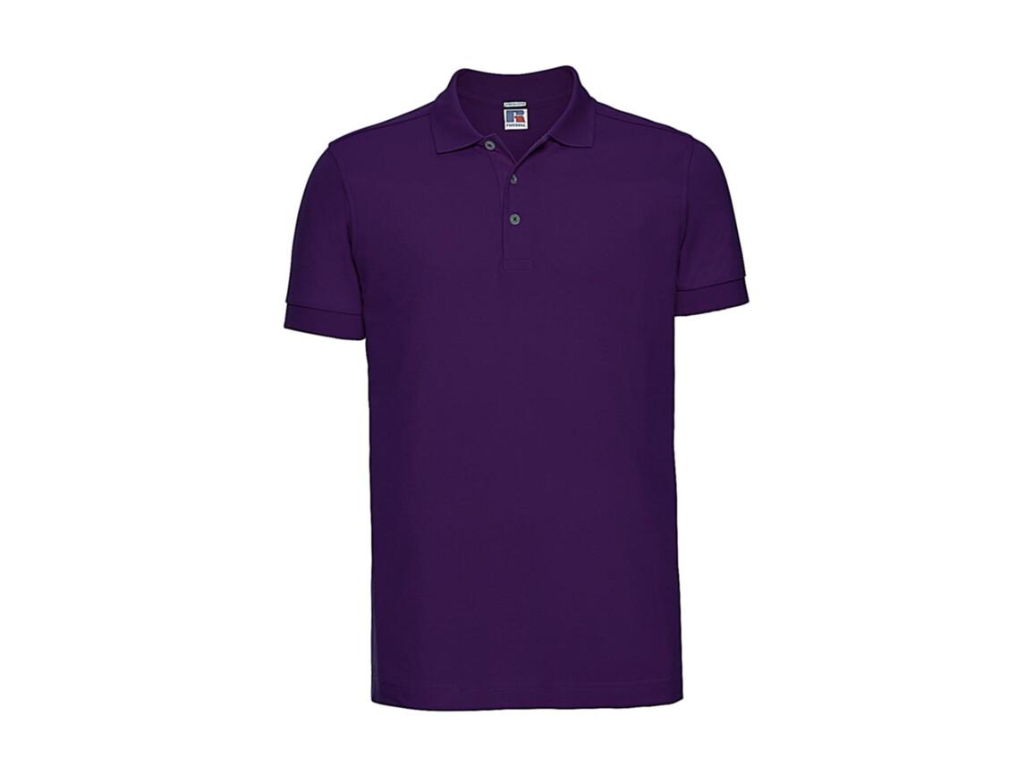 Russell Europe Men`s Fitted Stretch Polo, Ultra Purple, 3XL bedrucken, Art.-Nr. 567003478
