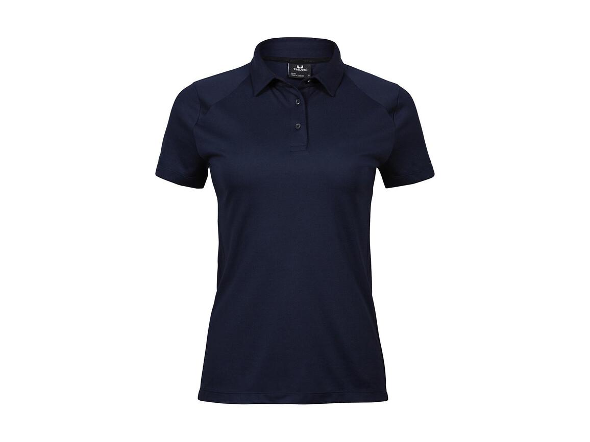 Tee Jays Ladies` Luxury Sport Polo, Navy, 3XL bedrucken, Art.-Nr. 571542008