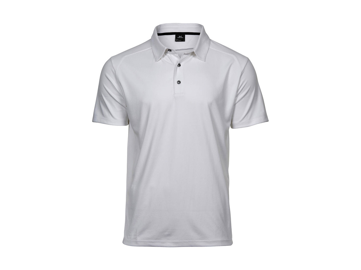 Tee Jays Luxury Sport Polo, White, 2XL bedrucken, Art.-Nr. 572540007