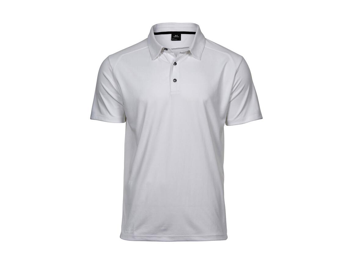 Tee Jays Luxury Sport Polo, White, XL bedrucken, Art.-Nr. 572540006