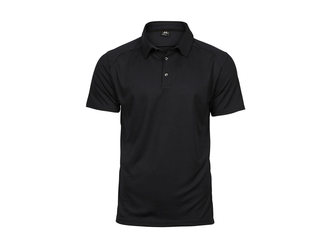 Tee Jays Luxury Sport Polo, Black, S bedrucken, Art.-Nr. 572541013