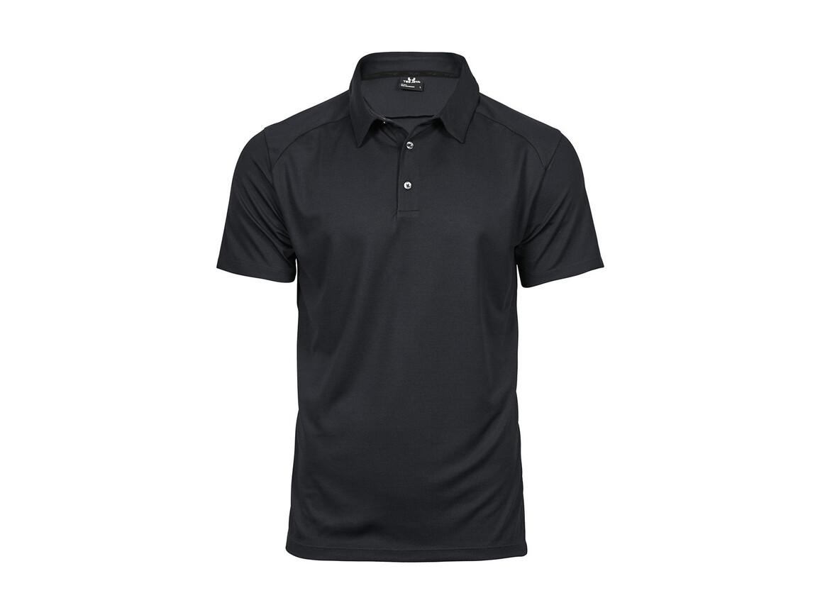 Tee Jays Luxury Sport Polo, Dark Grey, 2XL bedrucken, Art.-Nr. 572541287