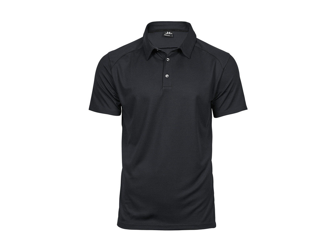 Tee Jays Luxury Sport Polo, Dark Grey, S bedrucken, Art.-Nr. 572541283