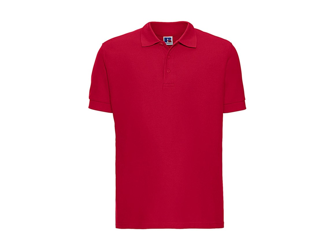 Russell Europe Better Polo Men, Classic Red, XS bedrucken, Art.-Nr. 577004012