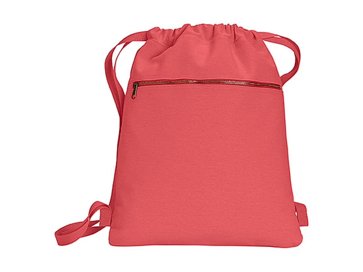 Comfort Colors Canvas Cinch Sak, Neon Red Orange, One Size bedrucken, Art.-Nr. 601034150