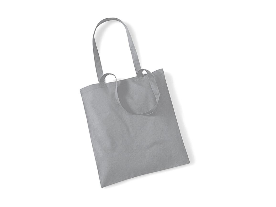 Westford Mill Bag for Life - Long Handles, Pure Grey, One Size bedrucken, Art.-Nr. 601281150