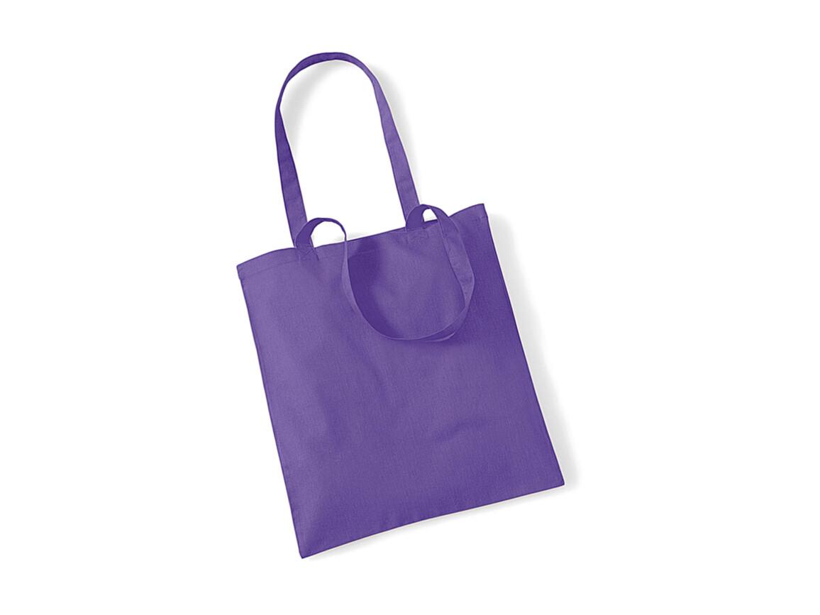 Westford Mill Bag for Life - Long Handles, Violet, One Size bedrucken, Art.-Nr. 601282200
