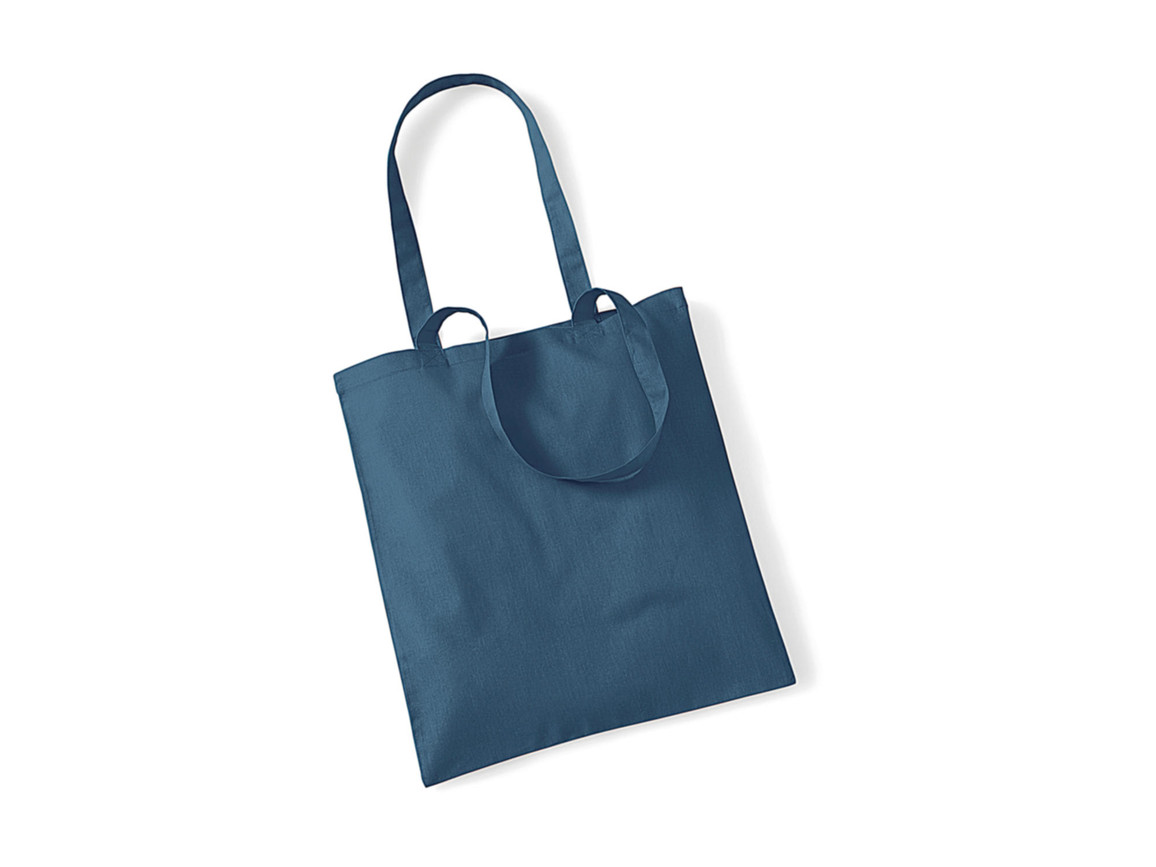 Westford Mill Bag for Life - Long Handles, Airforce Blue, One Size bedrucken, Art.-Nr. 601283020