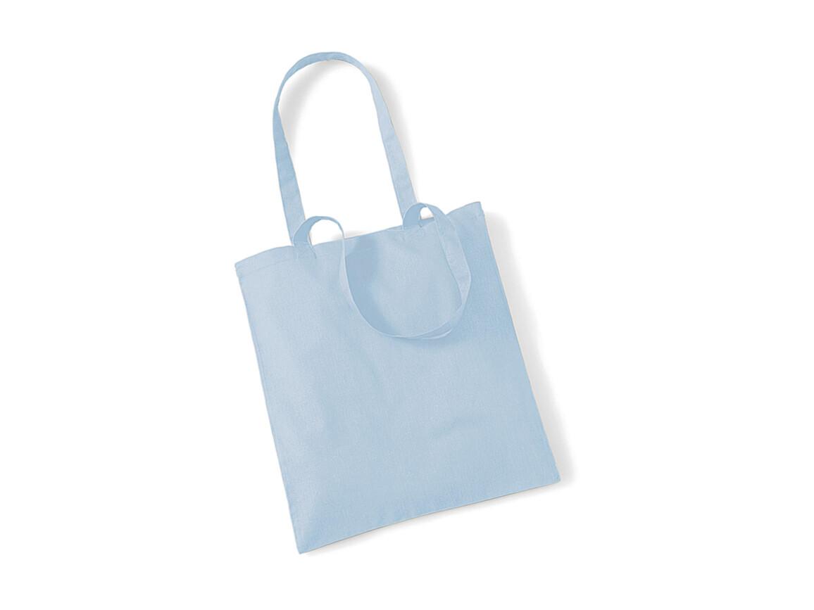 Westford Mill Bag for Life - Long Handles, Pastel Blue, One Size bedrucken, Art.-Nr. 601283230