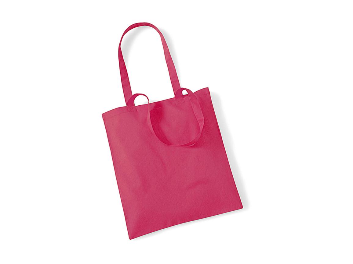 Westford Mill Bag for Life - Long Handles, Raspberry Pink, One Size bedrucken, Art.-Nr. 601284290