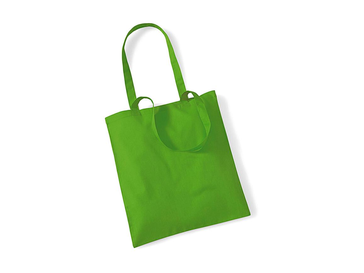 Westford Mill Bag for Life - Long Handles, Apple Green, One Size bedrucken, Art.-Nr. 601285220