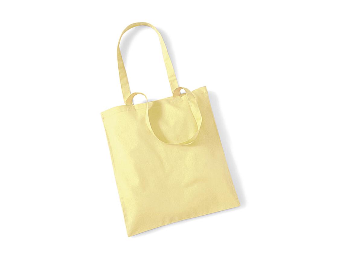 Westford Mill Bag for Life - Long Handles, Pastel Lemon, One Size bedrucken, Art.-Nr. 601286060