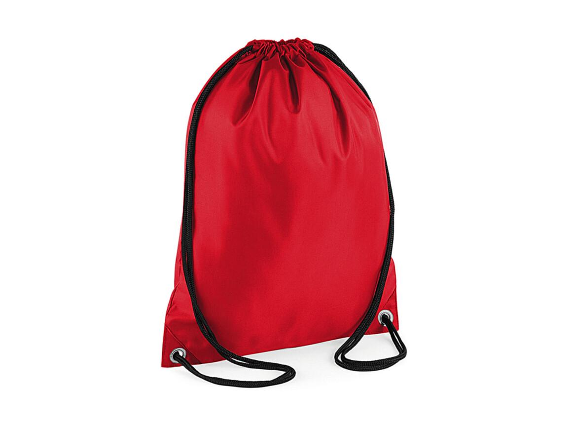Bag Base Budget Gymsac, Red, One Size bedrucken, Art.-Nr. 601294000