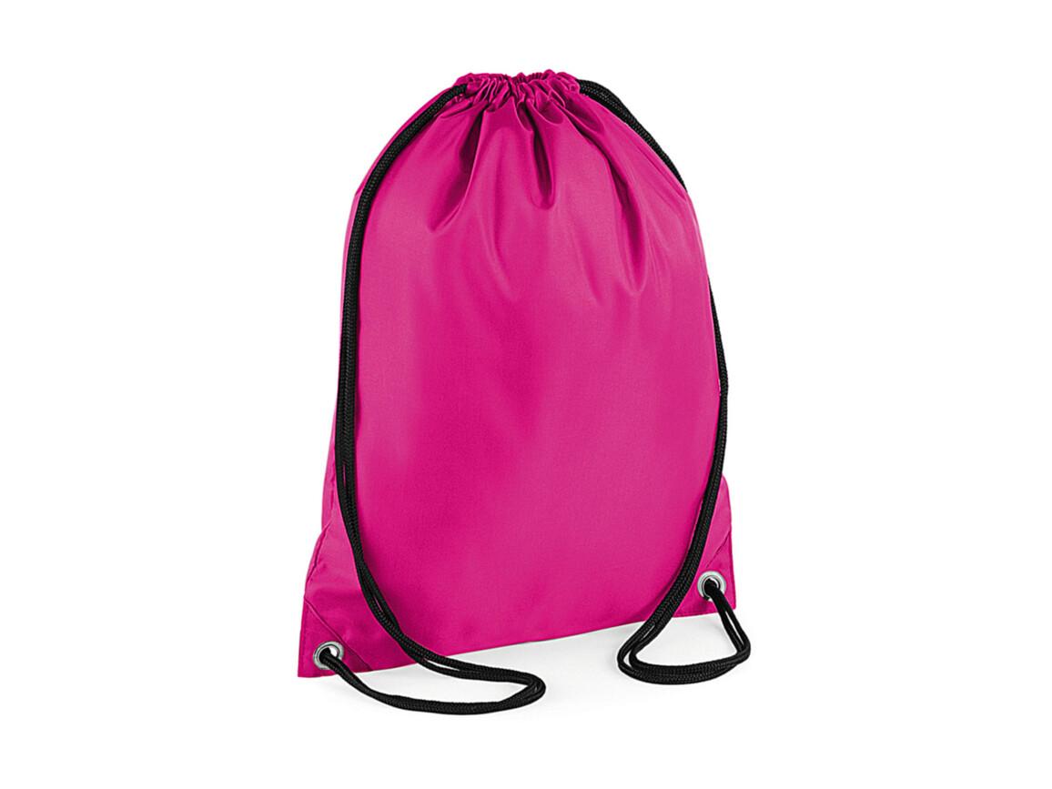 Bag Base Budget Gymsac, Fuchsia, One Size bedrucken, Art.-Nr. 601294390