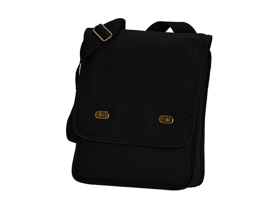 Comfort Colors Canvas Field Bag, Black, One Size bedrucken, Art.-Nr. 602031010